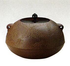 ZEN Japanese Tea Ceremony Unsai Tung Bamboo Chagama
