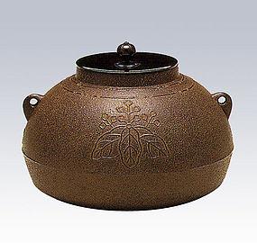 ZEN Japanese Tea Ceremony Zimon Tung Hiramaru Chagama