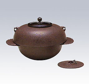 Japanese Zen Tea Ceremony Cast Iron Haku Chagama