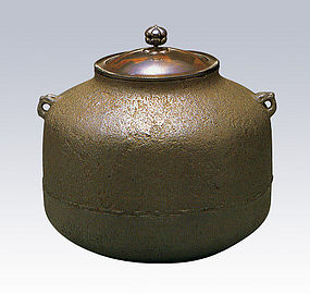 ZEN Japanese Tea Ceremony Rikyu Amidado Kettle Chagama