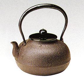 Japanese Zen Tea Ceremony Cast Iron Imogashira Chagama