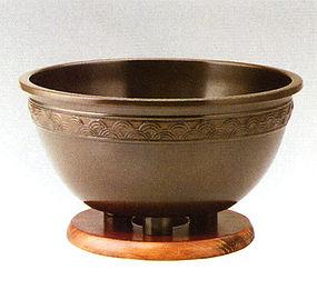 Japanese Zen Tea Ceremony Iron Zimon Qinghai Chagama