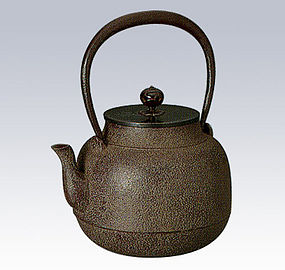Japanese Zen Tea Ceremony Cast Iron True Soild Chagama