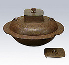 Japanese Zen Tea Ceremony Cast Iron Chuzaburo Chagama