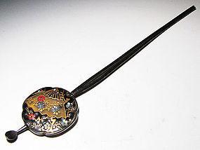 MEIJI Japanese Geisha Hair Ornament Kanzashi Hairpin #2