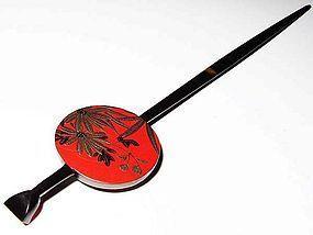 MEIJI Japanese Geisha Hairpin Ornament Kanzashi #3