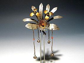 MEIJI Japanese Geisha Hairpin Ornament Kanzashi #9