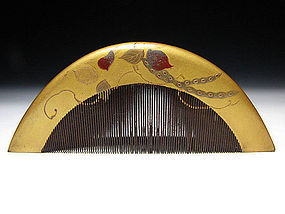 EDO Period Japanese Geisha Hair Comb Accessory #4