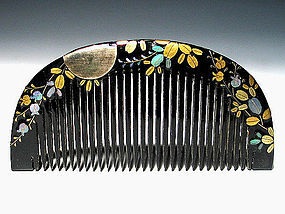 Meiji Period Japanese Geisha Hair Comb Accessory #33