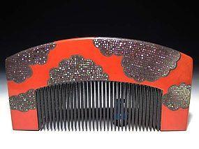 Meiji Period Japanese Geisha Hair Comb Accessory #39