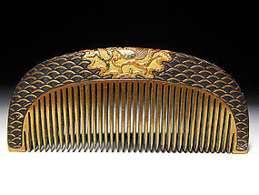 Meiji Period Japanese Geisha Hair Comb Accessory #61