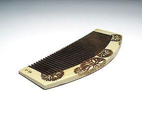 Meiji Period Japanese Geisha Hair Comb Accessory #62