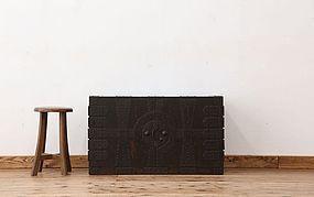 Edo Japan Antique Tansu Cabinet Furniture Kanagu #17
