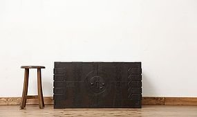 Edo Japan Antique Tansu Cabinet Furniture Kanagu #19