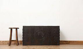 Edo Japan Antique Tansu Cabinet Furniture Kanagu #19