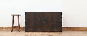 Edo Japan Antique Tansu Cabinet Furniture Kanagu #20