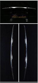 Japanese SAMURAI SWORD Katana signed Kotetsu two bodies cut