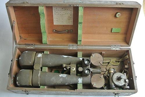 Japanese Nippon Kogaku Battery commanders telescope - Nikon binoculars