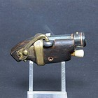 Very RARE Japanese gun Teppou shaped Netsuke sagemono