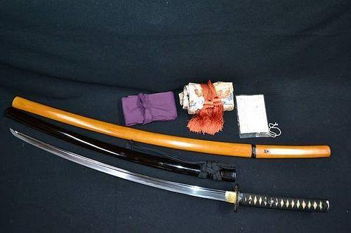 Authentic Japanese SAMURAI SWORD Katana signed Osafune Katsumitsu