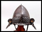 MOMOYAMA Period Samurai Momonari Kabuto Helmet