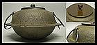 Japanese Tea Ceremony SADO Chagama Tetsubin Pot