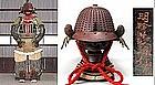 EDO 17th Samurai Gusoku Yoroi Myochin Kabuto Armor Suit