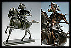 Japanese Samurai Bronze KORO Incense Burner Okimono