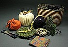 Japanese Tea Ceremony Chawan Bowl Utensils Set - Ivory