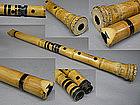 Antique KINKO Japanese Bamboo Flute Shakuhachi Zen Art
