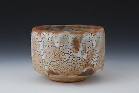 Shino Chawan by Kato Seizo the 13th