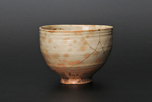 Gohon Chawan with Kintsugi Gold Repairs