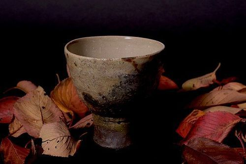 Hai-kaburi Tea Bowl by Tahara Tobei the 10th