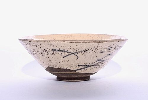 e-Shino Hira Chawan with Period Box