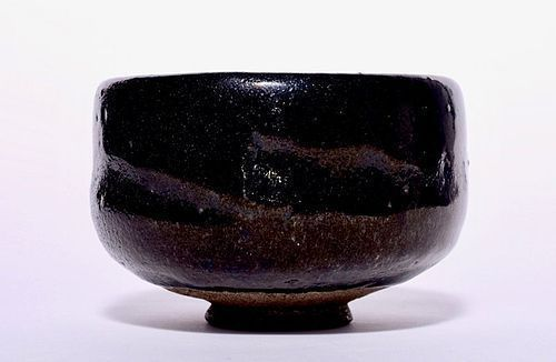 An Antique Raku Chawan with Period Box