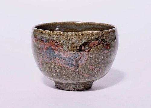An Ash Glazed Chawan by Kimura Moriyasu