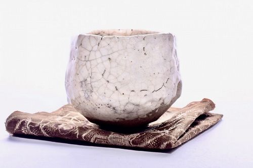 A Momoyama Period Shino Chawan