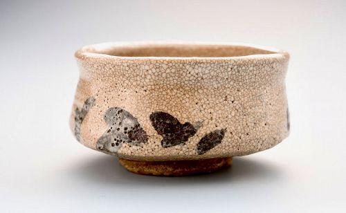 Antique Shino Hira Tea Bowl