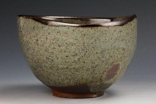 A Karatsu Tea Bowl by Takashi Hashimura
