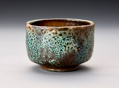Hishoku Nanban-yaki Tea Bowl by Sakuchi Ensen