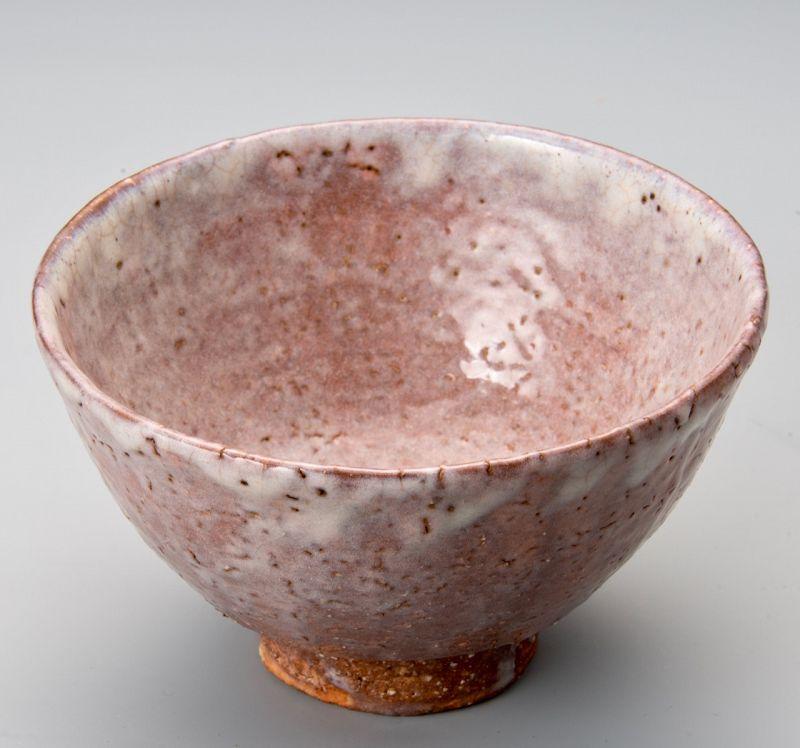 An Ido-shaped Hagi-yaki Tea Bowl by Zenzo Hatano
