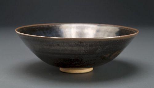 A Tenmoku Bowl by Living National Treasure Yuzo Kondo