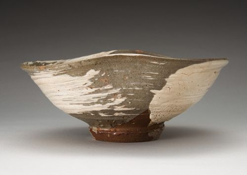 A Beautiful Hakeme Bowl by Ninnami Dohachi (1783 - 1855)