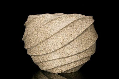 A Large Sculptured Vase from Takayuki Sakiyama's Ch�t� Series