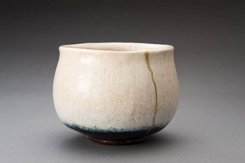 A White Raku Tea Bowl by Ohi Chozaemon X (Tea Master Item)