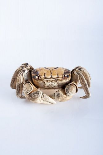 A Japanese articulated crab