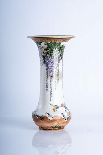 Kinkozan Sobei –A Japanese Satsuma vase