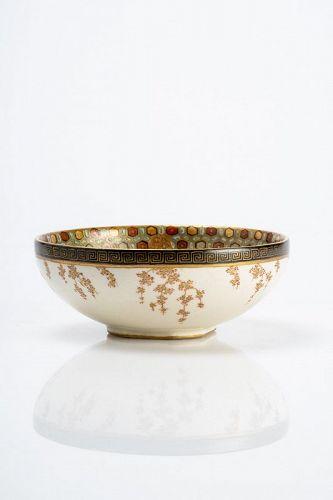 Meizan - A Japanese Satsuma bowl