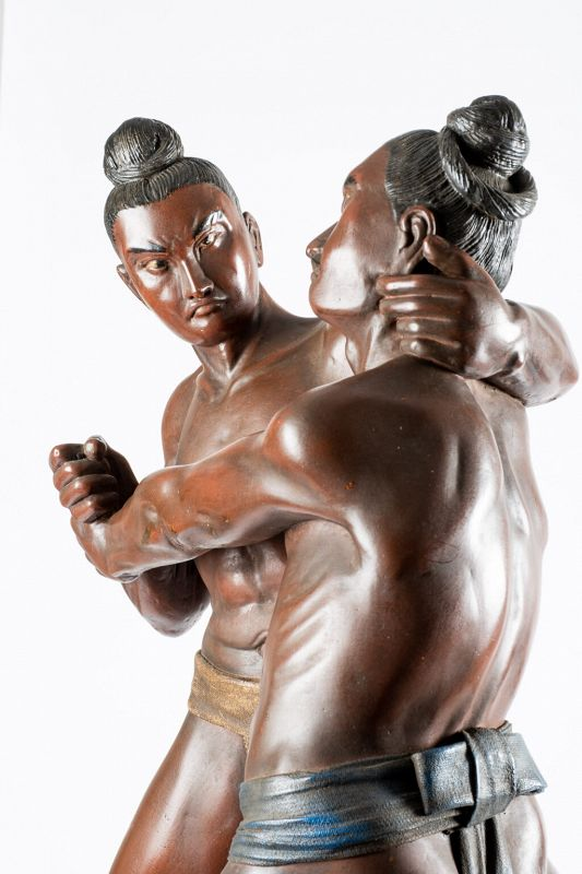 A Japanese Sumo Kimarite Wrestlers 決 ま り 手