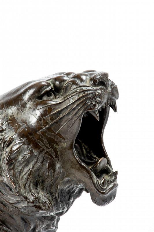 Atsuyoshi 厚義 Maruki company 丸喜社 – A Japanese study of a roaring tiger